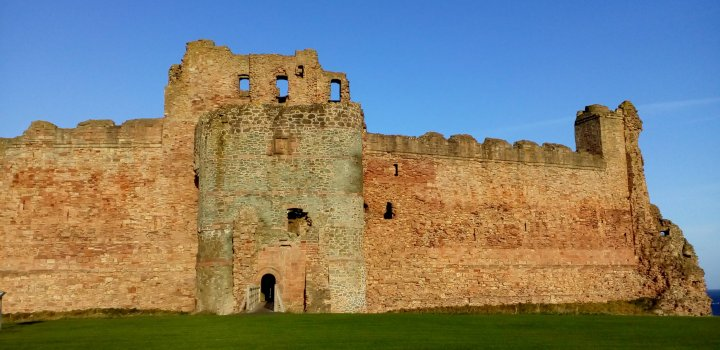 Tantallon Castle & Bass Rock